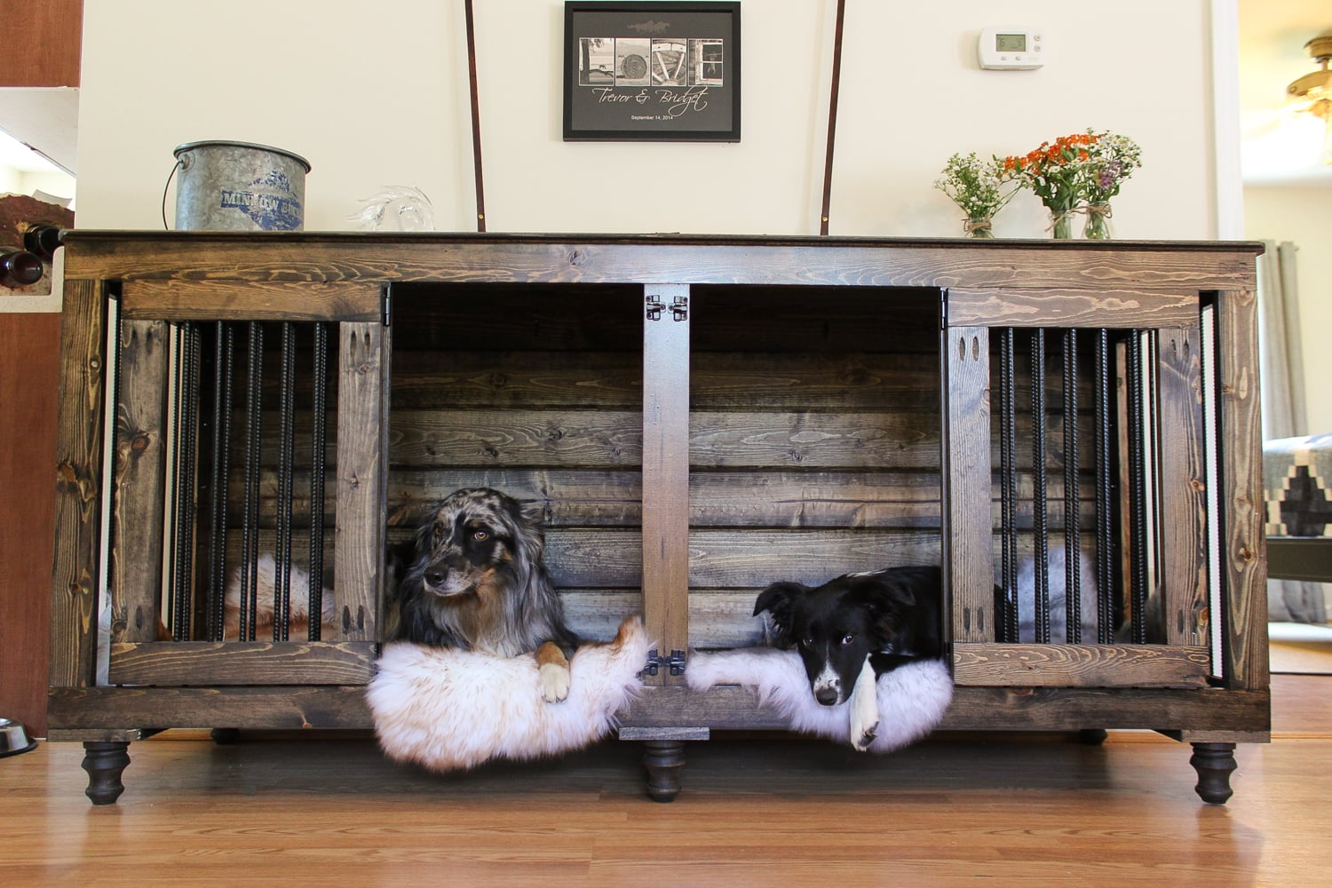 Bb Custom Kennels Double Doggie Den